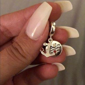 Pandora hanging authentic charm